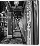 Chinatown In Singapore - Entry To The Saff Hotel Canvas Print