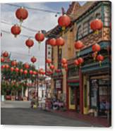 Chinatown Los Angeles 1 Canvas Print