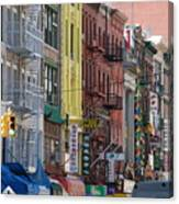 Chinatown Walk Ups Canvas Print