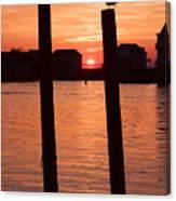 Chincoteague Sunset Canvas Print