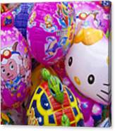 Chinese Balloons Canvas Print