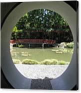 Chinese Garden View Canvas Print