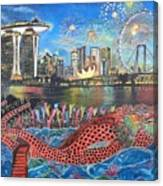 Chingay Parade Canvas Print