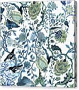 Chinoiserie Blue Canvas Print