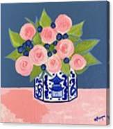 Chinoiserie Vase 2 Canvas Print
