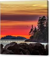 Chinook Sunset 2 Canvas Print