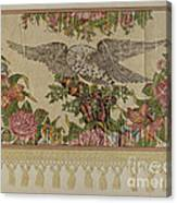 Chintz Valance For Poster Bed Canvas Print