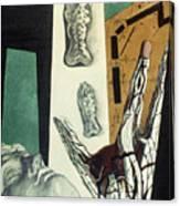 Chirico: Arch, 1914 Canvas Print