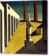 Chirico: Enigma, 1914 Canvas Print