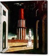 Chirico: Grand Tour, 1914 Canvas Print
