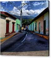 Chirimena Houses Canvas Print