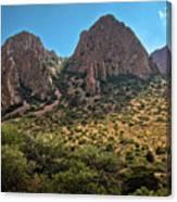 Chisos Mountain Range Canvas Print
