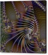 Chitin Layers Canvas Print