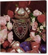 Chocolate And Romance Canvas Print
