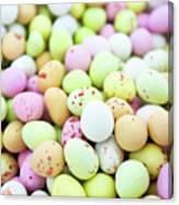 Chocolate Eggs Canvas Print