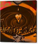 Chocolate Valentine Canvas Print
