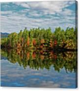 Chocorua Lake Reflection Canvas Print