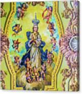 Choir Ceiling Canvas Print