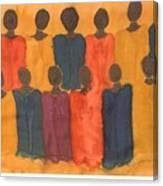 Choir Canvas Print