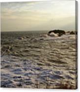 Choppy Seas Canvas Print