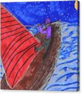 Choppy Waters Canvas Print