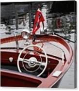 Chris Craft Sportsman Canvas Print