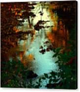 Chris' Creek Autumn Sunset Canvas Print