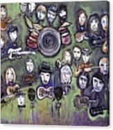 Chris Daniels And Friends Canvas Print