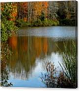 Chris Greene Lake - Reflections Canvas Print