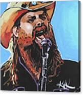 Chris Stapleton Canvas Print