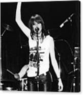 Chrissie Hynde 1980 San Francisco Canvas Print