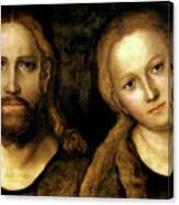 Christ And Mary Canvas Print