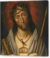 Christ As The Man Of Sorrows Canvas Print