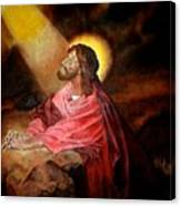 Christ At Gethsemane Canvas Print