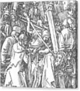 Christ Bearing The Cross 1509 Canvas Print