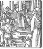 Christ Before Pilate 1511 Canvas Print
