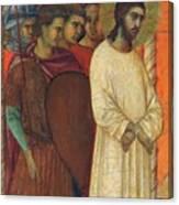 Christ Before Pilate Fragment 1311 Canvas Print