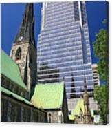 Christ Church Cathedral Montreal Canvas Print