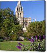 Christ Church Cathedral Oxford University Uk Canvas Print