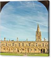 Christ Church College Oxford Canvas Print