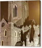 Christ Church Dublin Ireland Canvas Print