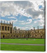 Christ Church Tom Quad Canvas Print