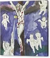 Christ Crucifixion Canvas Print