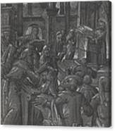 Christ Disputing With The Doctors Canvas Print