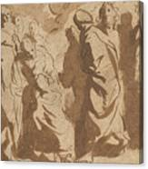Christ Healing The Paralytic Canvas Print