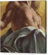 Christ In Glory  Detail Canvas Print