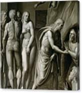 Christ In Limbo Canvas Print