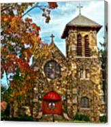 Christ My Solid Rock Canvas Print