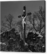 Christ On The Cross 002 Canvas Print