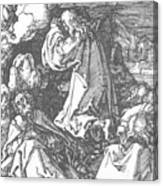 Christ On The Mount Of Olives 1511 Canvas Print